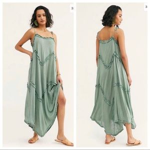 Free People Beach Avalon Casual Maxi Dress Size L